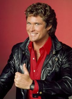Get This Special Offer David Hasselhoff KITT color Photo Knight Rider Thumbs up Larry Wilcox, Danielle Fishel, Diane Lane, Rebecca Holden, K 2000, Anna Kara, Old Celebrities, Dragon Knight, Classic Sci Fi
