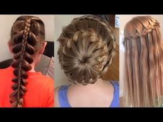 10 CUTE 1-MINUTE HAIRSTYLES FOR LITTLE GIRLS - YouTube