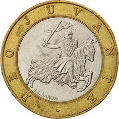 Monaco, Rainier III, 10 Francs, 1993, AU(50-53), Bi-Metallic, KM:163