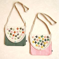 these mina perhonen purses remind me fondly of my childhood handsewn purses Tote Purse, Purse Wallet, Vegan Cake, Kids Bags, Kids Wear, Hand Sewing, Purses And Bags, Kids Fashion, Crafty