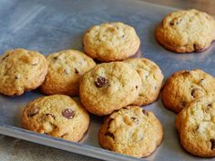 Crispy-Cakey Chocolate Chip Cookies recipe from Food Network Kitchen via Food Network