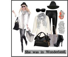 """Wonderland"" by nora-nazeer ❤ liked on Polyvore"
