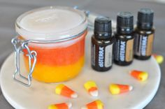 Celebrate Fall by making this festive fall sugar scrub to help exfoliate and soften your skin.