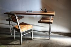 Industrial Desk // Rustic Table // Reclaimed Barn by weareMFEO, $1475.00