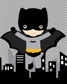 Super hero wall art prints superhero prints by AmysDesignShoppe