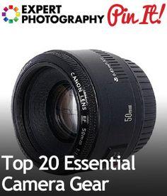 Top 20 Essential Camera Gear