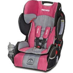A two-in-one toddler car seat and booster car seat, the revolutionary and extremely safe RECARO Performance SPORT meets all new FMVSS 213 standards, including a new harness upper weight limit of 65 lbs to accommodate the weight of an average 9.5-year-old child.