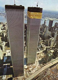 Torres Gemelas en su Construcción 1971,New York