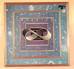 Moebius - s/t - Plastic Poison - Canadian pressing, 1979 Lp Cover, Cover Art, 5 S, Plastic, Vintage, Plastic Art, Vintage Comics, Primitive