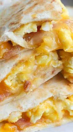 Check out Breakfast Quesadillas...
