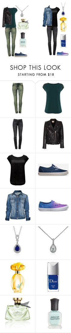 """Flawless"" by jazz52099 ❤ liked on Polyvore featuring Vero Moda, Warehouse, Current/Elliott, IRO, Forever New, Vans, MANGO, Blue Nile, GUESS and Christian Dior"