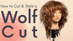 Cut And Style, Cut And Color, Wavey Hair, Wolf, The Creator, Hair Cuts, Youtube, Beauty, Beautiful
