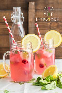 Pink Mint Lemonade Recipe | Yummly
