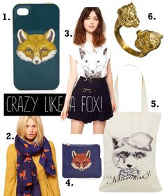 fatshion insider: Crazy Like Fox!