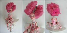 Gisèle ,art doll by Alexandra Soury