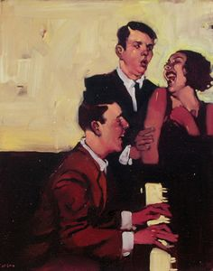 pianoxtrio paintings-by-Michael-Carson