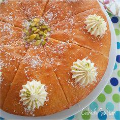 KOLAY EKMEK KADAYIFI Turkish Baklava, Pie Recipes, Deserts, Pudding, Fruit, Eat, Ethnic Recipes, Food, Sultan