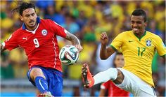 2014 #FIFAWORLDCUP - ROUND OF 16 - 1ST MATCH - #BRAZIL VS #CHILE MATCH RESULT  BRAZIL WON  http://football.chdcaprofessionals.com/2014/06/2014-fifa-world-cup-round-of-16-1st.html