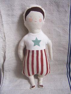 Doll in her swim attire
