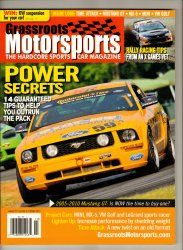 Grassroots Motorsports Car Magazine October 2010 Rally Race Racing