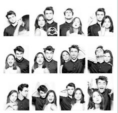 Daniel Radcliffe and Bonnie Wright. This is soooo cute! ^^