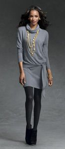 Cabi - Fall 2012 Cozy Cowl- cute layered over Ponte Leggings Or Black Rain Jeggings too!