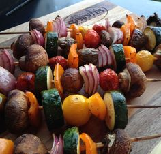 Don't be afraid to experiment on the grill this summer! Find the perfect foods to make your new favorite kabobs.