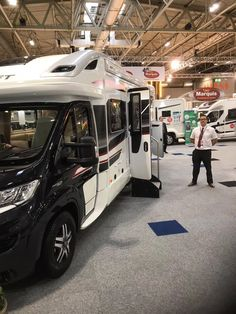 Viscount at the Birmingham NEC and show. Birmingham Nec, Viscount, Vw Camper, Rv Life, Southampton, Motorhome, Caravan, Swift, Recreational Vehicles