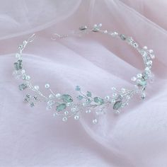 Excited to share the latest addition to my shop: Wedding White Opal Headpi. <img> Excited to share the latest addition to my shop: Wedding White Opal Headpiece for Bride with Pearl and Crystals, Silver Bridal Halo, Rhinestone Hair Piece - Cute Jewelry, Hair Jewelry, Bridal Jewelry, Jewellery, Wedding Jewelry For Bride, Jewelry Gifts, Bridal Tiara, Bridal Headpieces, Headpieces For Brides