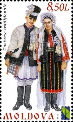Traditional Costumes from Moldova