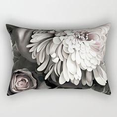 Dark Bloom Rectangular Pillow