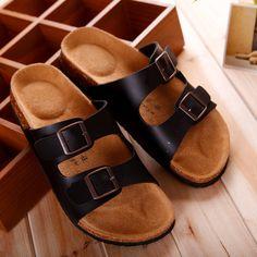 $16.99 (Buy here: https://alitems.com/g/1e8d114494ebda23ff8b16525dc3e8/?i=5&ulp=https%3A%2F%2Fwww.aliexpress.com%2Fitem%2F2016-Men-s-Summer-Casual-Slipper-PU-Soft-Leather-Buckle-Flat-Heel-Slippers-Beach-Sandals-Male%2F32712333846.html ) 2016 Men's Summer Casual Slipper PU Soft Leather Buckle Flat Heel Slippers Beach Sandals Male Home Leisure sandalia hombre O727  for just $16.99