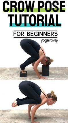 Beginners that are having trouble with crow pose need to check out this tutorial on how to break it down to build up your strength. Yoga For Beginners Flexibility, Workout Routines For Beginners, Yoga Poses For Beginners, Workout Videos, Yoga Tips, Yoga Routine, Yoga Lifestyle, How To Pose, Yoga Inspiration