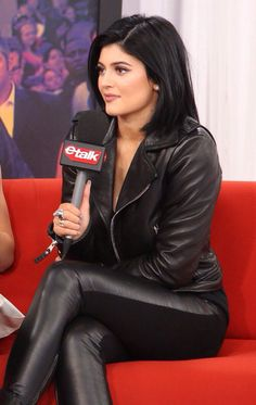 June 15, 2014 - Kylie Jenner being interviewed by Etalk after the 2014 MMVA's