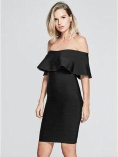 GUESS by Marciano Women's Meldon Bandage Dress