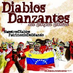 Diablos danzantes son Patrimonio Cultural Inmaterial de la Humanidad   Ola Bolivariana