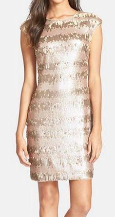 Pretty sequin sheath dress http://rstyle.me/n/qwjh9nyg6