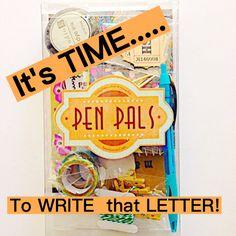 It's time to start the Adventure! #snailmail #penpals