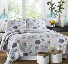 Ocean House Queen to King Bed Coverlet Set - Shop