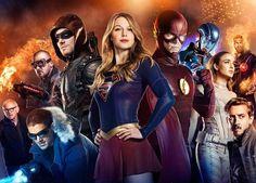 """Finały """"Supergirl"""", """"Arrow"""" i """"The Flash"""" za nami! Który z nich podobał Wam się najbardziej, a który najmniej?  #DCComics #Supergirl #Arrow #TheFlash #SerialeDC /// Ksocial #SuperHero #Batman #SuperHeroes #Marvel"""