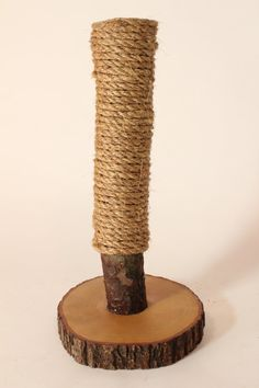 Recycled Tree-Limb Cat Scratching Post No.2