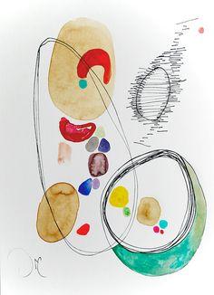 Contemporary Modern Art an Original Abstract por VictoriAtelier, $70.00