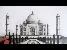 How to Draw the Taj Mahal: How to Draw YouTube Video