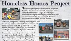And here is the homeless homes guy's official site.