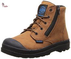 Palladium pampa High Leather Gusset Boot (Little Kid),Tortoise M US Little  Kid