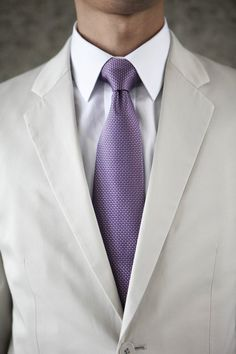 Photography by alisonmayfield.com Love the grey with purple tie