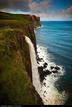 Waterfalls at Kilt rocks - Scotland | Flickr - Photo Sharing!