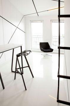 Дизайн необычной квартиры-студии в Польше