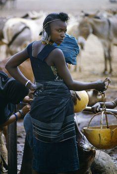 Africa | Wodaabe woman. Abalak, Niger | ©Kazuyoshi Nomachi