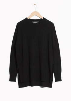& Other Stories image 1 of Cashmere Sweater in Black